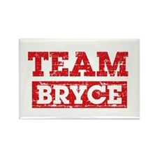 Team Bryce Rectangle Magnet