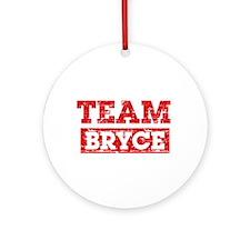 Team Bryce Ornament (Round)