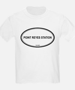 Point Reyes Station oval Kids T-Shirt
