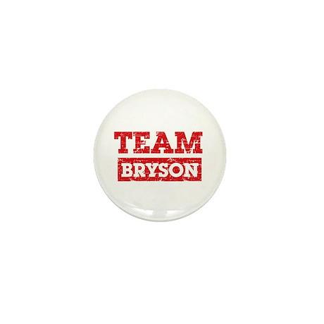 Team Bryson Mini Button