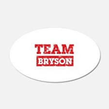Team Bryson Wall Decal