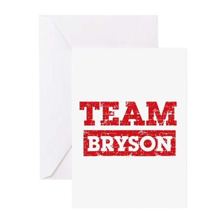 Team Bryson Greeting Cards (Pk of 10)