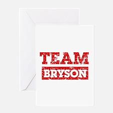 Team Bryson Greeting Card