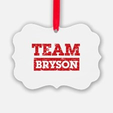 Team Bryson Ornament