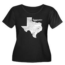 Carpenter, Texas. Vintage T