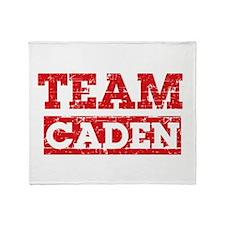 Team Caden Throw Blanket