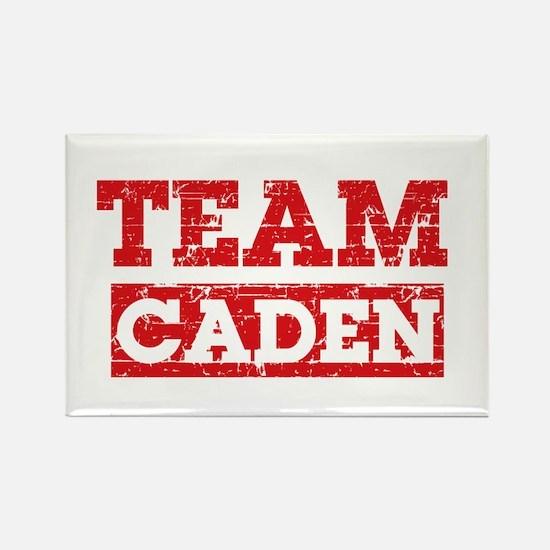 Team Caden Rectangle Magnet