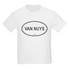 Van Nuys oval Kids T-Shirt