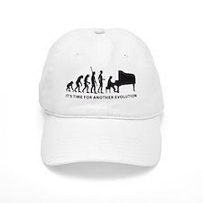 evolution piano Baseball Cap