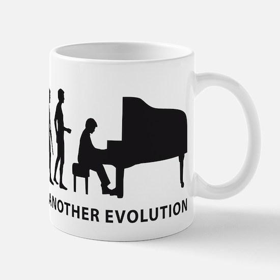 evolution piano Mug