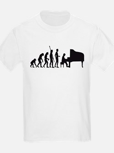 evolution piano player T-Shirt