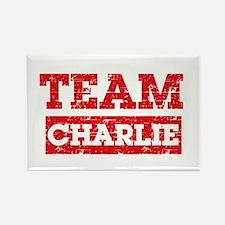 Team Charlie Rectangle Magnet