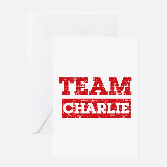 Team Charlie Greeting Card