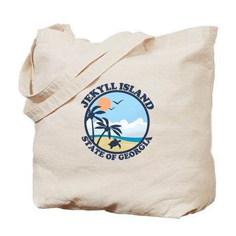 Jekyll Island GA - Sand Dollar Design. Tote Bag