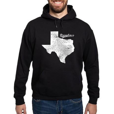 Douglass, Texas. Vintage Hoodie (dark)