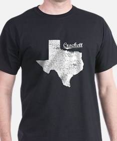 Crockett, Texas. Vintage T-Shirt