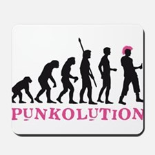 evolution punk Mousepad