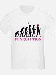 evolution punk T-Shirt