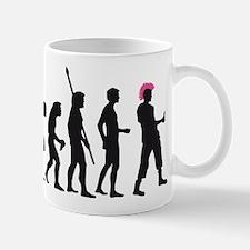evolution punk rocker Mug