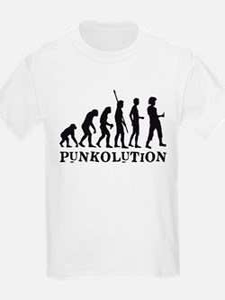evolution punk rocker T-Shirt