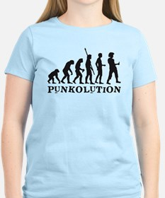 evolution punk rocker T-Shirt