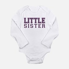 Funny Little sister Long Sleeve Infant Bodysuit