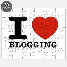 I heart Blogging Puzzle