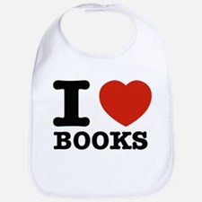 I heart Books Bib