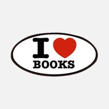 I heart Books Patches