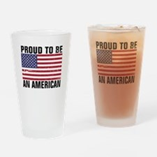 Proud to be an American - Distressed Drinking Glas
