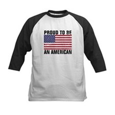 Proud to be an American - Distressed Tee