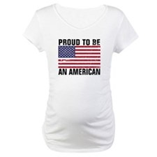 Proud to be an American - Distressed Shirt