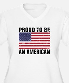 Proud to be an American - Distressed T-Shirt