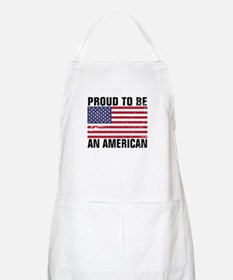 Proud to be an American - Distressed Apron
