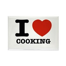 I heart Cooking Rectangle Magnet (100 pack)