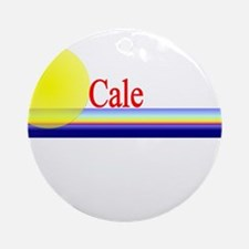 Cale Ornament (Round)