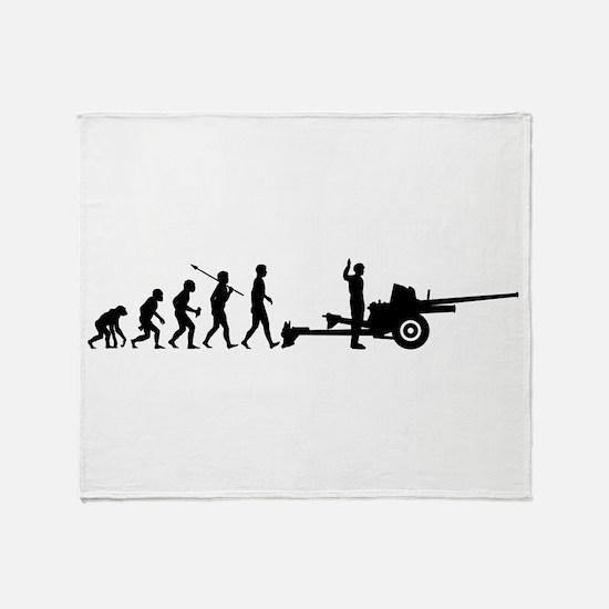 Artillery Crew Throw Blanket