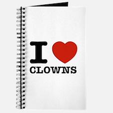 I heart Clowns Journal