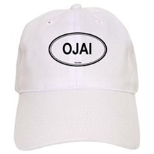 Ojai oval Baseball Cap