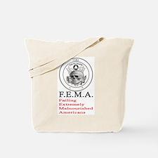 F.E.M.A. Tote Bag