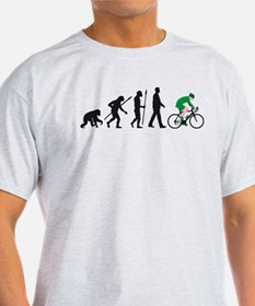 evolution bicycle racer T-Shirt