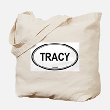 Tracy oval Tote Bag