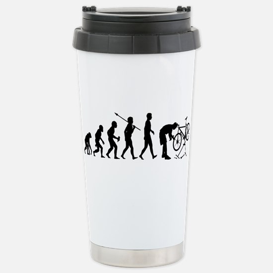 Bicycle Mechanic Stainless Steel Travel Mug