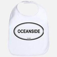 Oceanside oval Bib