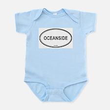Oceanside oval Infant Creeper