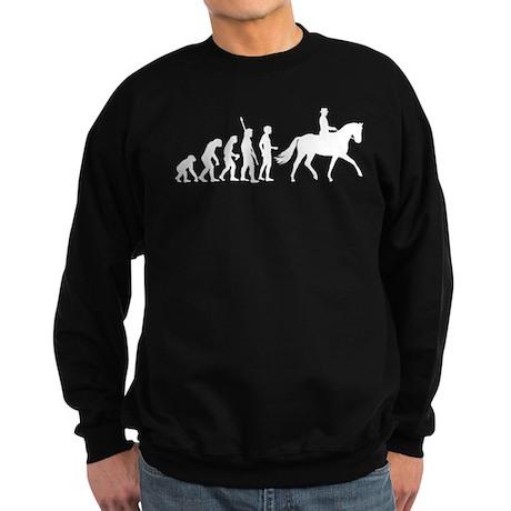 evolution dressage riding Sweatshirt (dark)