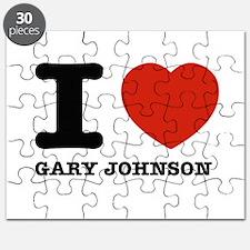 I heart Gary Johnson Puzzle