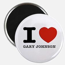 I heart Gary Johnson Magnet
