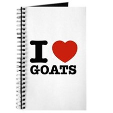 I heart Goats Journal