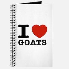 I heart Goats Journal